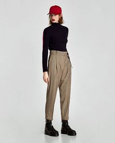 Looking to mix things up? Try wear things pants instead of your standard jeans or leggings.