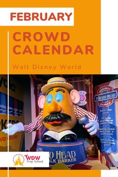 Planning to visit Disney World in February? Check out our FREE February Crowd Calendar for help finding the least crowded parks for each day of your trip. Disney World Crowd Calendar, Walt Disney World, Disney Planning, Disney Trips, Funny Faces, Parks, February, How To Plan, Check
