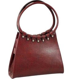 Red Designer Inspired Classic Shoulder Bag Purse - Handbags, Bling & More!