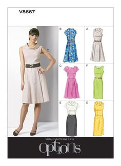 Vogue Easy Options | Page 2 | Vogue Patterns