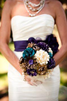 PAPER flower bouquet!