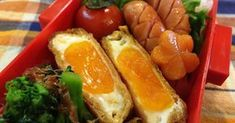 雑誌に掲載されました♡油揚げに卵をポンと落として焼いたものに甘辛いタレを絡めた簡単に出来てご飯も進む美味しいおかずです♪