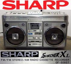 SHARP GF-508ST SEARCHER-XL