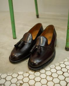 fe346e7ae1ab Cordovan Tassels on Prince St.  drakes  alden Tassel Loafers