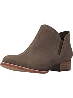 Vince Camuto Women's Carlal Ankle Bootie, Forest Grey, 6.5 M US ❤ Vince Camuto