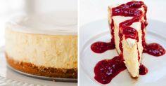 Recept na dokonalý cheesecake so lahodnou smotanovou a sviežou malinovou polevou. Tvarohový koláč, maškrta, pravý domáci cheesecake, postup, návod