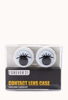 Googly Eyes Contact Lens Case | FOREVER21