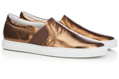 Iridescent leather sneaker from Lanvin to 380 €