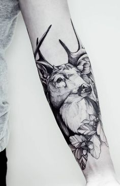 Magnificent Deer Tattoo