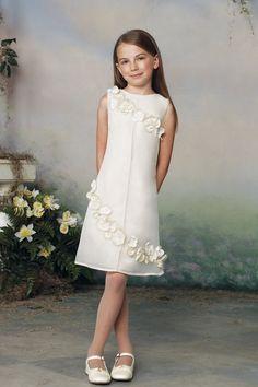 Белое прямое платье на выпускной 4 класс