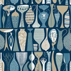 Pottery 1759 - Scandinavian Designers II - Boråstapeter