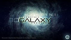 Houdini 3D Galaxy Particle Gas Creation And Rendering by Chris Maynard. cmiVFX Releases New SideFX Houdini 3D Galaxy Creation Effects Video