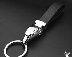 KG High Quality Real Leather & Metal Alloy Mix Key Ring Fob Motor Bike Bird Eagle Head Design Genuine Key's Birthday Men Gift Dad Father UK