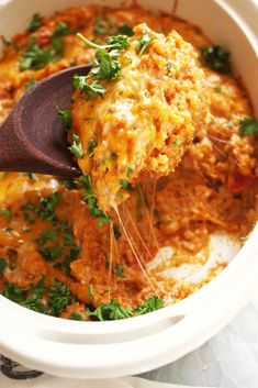Cheesy Mexican Rice Casserole