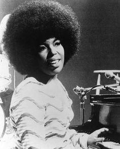 Roberta Flack pictured in 1971.