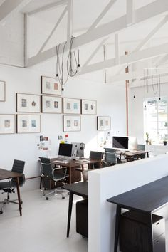 RADAR offices by JP de la Chaumette - modern, creative office design