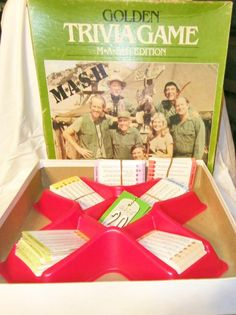Another M*A*S*H must have! I wonder how I would do!