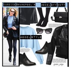 Candice Swanepoel's - Model Off Duty by goreti on Polyvore featuring polyvore fashion style Plush clothing