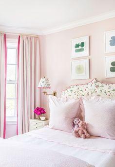 Pink Bedrooms, Guest Bedrooms, Girls Bedroom, Bedroom Decor, Room Girls, Kid Rooms, Little Girl Rooms, My Room, Home Decor Inspiration