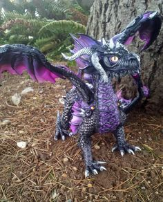 Val'Lorken Dragon swamp Dragon by MakoslaCreations on Etsy, $350.00