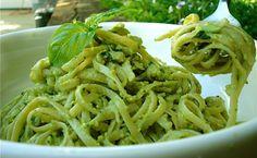 Avocado Pesto- my favorite pesto sauce to date! (Vegan)