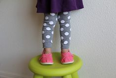 diy toddler leggings!
