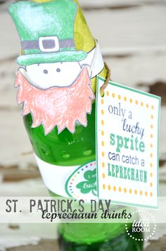 St. Patrick's Day Leprechaun drink covers