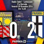 LUMEZZANE-PARMA 0-2 – IL PARMA VINCE SENZA FATICA: PER LUCARELLI UN GOL STORICO