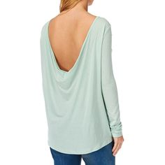 Waterfall Top Sweeping elegantly down from a cropped front to a dramatically long back hem, this top adds drama to any outfit.