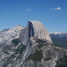 Top wow spots of Yosemite | Half Dome from Glacier Point