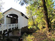 Stewart Covered Bridge in Oregon