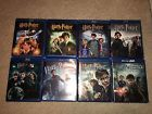 Harry Potter Complete 8 Movie Collection LOT Blu-ray