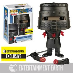 Monty Python and the Holy Grail: Flesh Wound Black Knight Pop figure by Funko, Entertainment Earth exclusive