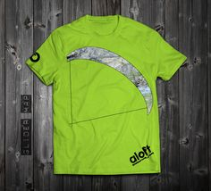 "www.aloft.clothing ""Glider Map"" men's t-shirt, green cotton, paragliding brand, casual line Like our page: https://www.facebook.com/AloftBoundaryLayerApparel"
