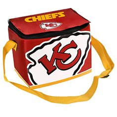 NFL Kansas City Chiefs Big Logo Team Lunch Bag ** Click on the image for additional details.