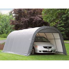 ShelterLogic Round Car Shelter