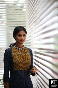 Be it for office wear, casual outings or college dress code, kurti's have become an integral part of every Indian Simple Kurta Designs, Kurta Designs Women, Blouse Designs, Dress Designs, Cotton Kurtis Designs, Kurtha Designs, Salwar Pattern, Kurta Patterns, Neck Patterns For Kurtis