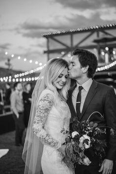 Blake + Michelle | bride and groom, wedding, wedding photography, wedding night, wedding flowers, wedding ideas, couple photos