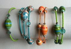 summer jewelry - july, 2012 by gingerblue, via Flickr