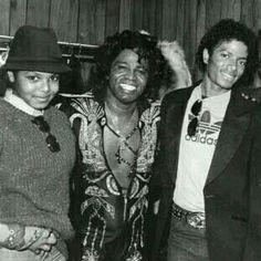 Legends Janet Jackson, James Brown, and Michael Jackson.