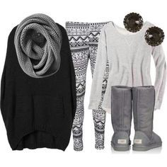 teen fashion outfits for school -- I don't like the shirt on the right, but love the rest