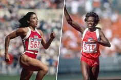 Greatest woman athlete: Florence Griffith-Joyner or Jackie Joyner-Kersee? Florence Griffith Joyner, Jackie Joyner Kersee, Flo Jo, Star Wars, Great Women, Women In History, Athletic Women, Female Athletes, Strong Women