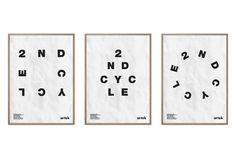 Tony Eräpuro,  logo design,  typography, poster, scatter, ramdom, identity, graphic design, artek, artek 2nd cycle, helsinki, finland, alvar aalto, architecture,