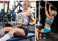 Jessie's Curls: Hilgenberg's Arm-Blasting Workout - Bodybuilding.com