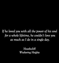   what if I was Heathcliff, it's no myth...maybe she's just looking for someone to dance with. [Heathcliff is the dark, loyal lover we all want.]  