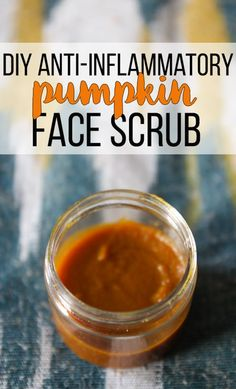 Who knew that pumpkin was so amazing for your skin? This all natural pumpkin face scrub gently exfoliates while reducing inflammation. Plus it feels amazing! My skin can't get enough- pumpkin is an awesome anti-inflammatory. There's even a video to show you how it is made. I can't believe how easy it was to make!