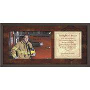 Firefighter's Prayer Photo Frame