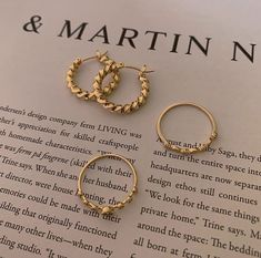 dainty gold India Jewelry, Jewellery, Photo Jewelry, Girly Things, Piercings, Hoop Earrings, Bangles, Rose Gold, Bling