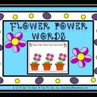 This 15 page flower themed file contains 6 color coded player game boards to practice decoding words.  Students need to decode the word on the flow...