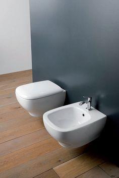 Wc e bidet Genesis Toilet, Bologna, Bathroom, Colors, Decor, Resin, Washroom, Flush Toilet, Decoration
